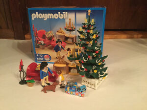 Playmobil 4892 Christmas Room Set w/ Light-up Tree