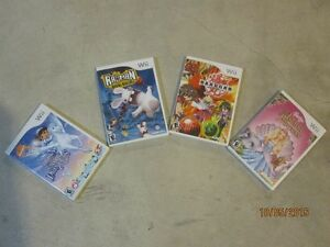 4 wii games for sale