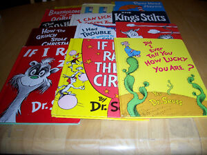 15 Older Edition Dr Seuss Books:Less Frequently Seen Titles