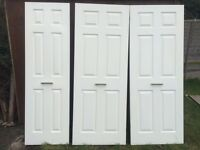 White internal doors