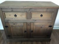 Solid wooden sideboard