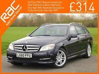 2010 Mercedes-Benz C CLASS C350 Sport Auto Estate Pan Roof Sat Nav Bluetooth DAB