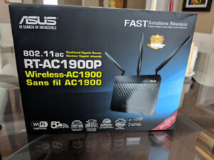 Asus RT-AC1900P Wireless router VPN ready