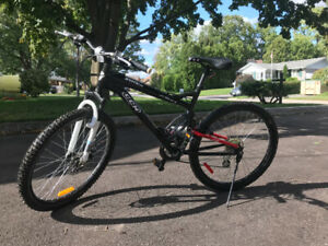 Shimano CCM dual suspension mountain bike