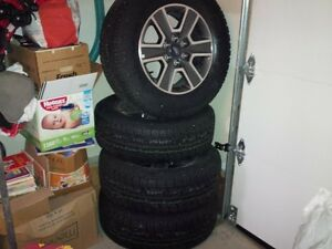 ford f150 mag rims and tires-brand new