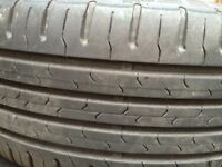 "16""Vauxhall Corsa d alloy wheel with tyre 195/55 r16"