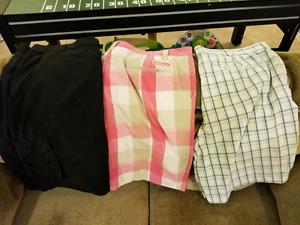 3 pairs golf shorts - size 42 - Under Armour, Adidas, Izod