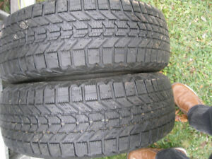 2 winter tires 195 65 15