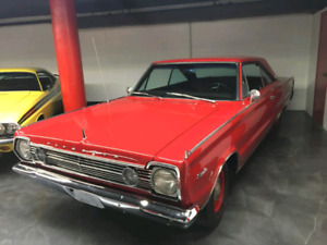 1966 Plymouth Hemi  Satelitte matching number