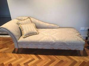 French designer chaise lounge/day bed/chaise lounge - as new Darling Point Eastern Suburbs Preview