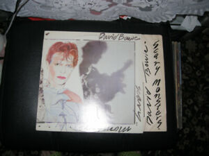 DAVID BOWIE -SCARY MONSTERS LP