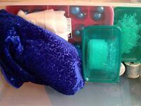 Blue Christmas Tree items