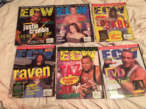 ECW Wrestling Magazines - Full collection