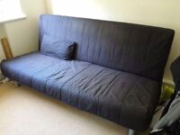 IKEA Beddinge sofa slate grey with 2 cushions