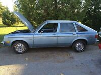 1980 mint  Chevette rust free