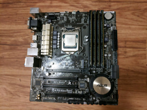 Intel Core i5 4690, Asus Z97m, 16GB memory for sale