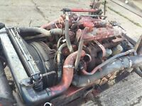 Iveco 75E15 Engine & Gearbox, Manual pump EXPORT