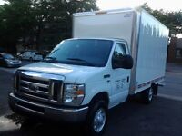 2009 Ford F-350 camion cube 12 pieds