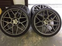 "HRE 20"" FF01 Fog alloy wheels. BMW"