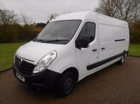 2013 63 VAUXHALL MOVANO 2.3CDTI 6SPEED L3H2 LWB 63000 MILES 1 OWNER VERY CLEAN