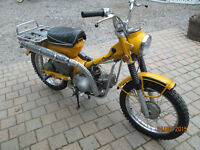 1970 Honda CT90 Street and Trail. 4-speed automatic