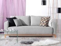 SPECIAL OFFER! grey Sofa Bed stockholm storage container new FAST DELIVERY