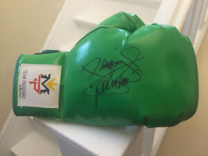 Manny Pacquiao Boxing Gloves with Signature