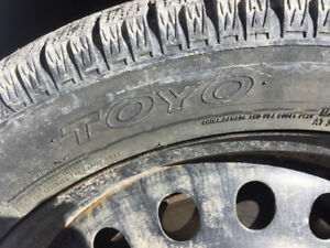Toyo Garit KX 215/50 R17 (3x) - winter tires