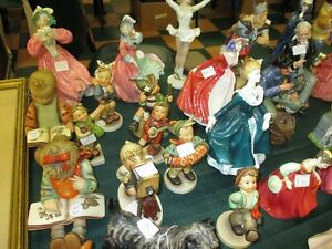 royal doulton & Hummel figurines