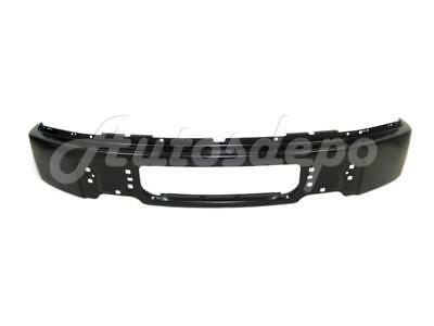 FOR FORD F150 2009-2014 FRONT BUMPER FACE BAR BLACK W/O FOG LAMP HOLE