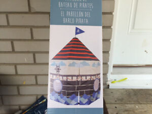 Pirate Ship Pavilion Play Tent New in Box