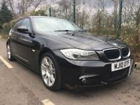BMW 3 SERIES 320d M Sport Good / Bad Credit Car Finance (black) 2010