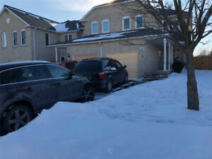 3 Bedroom + 3 Washroom End Unit Townhouse for Rent in Ajax