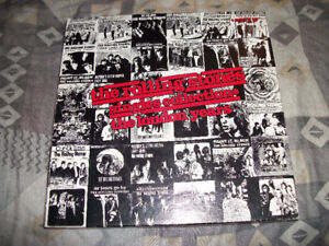 1989 THE ROLLING STONES Singles Collection-The London Years