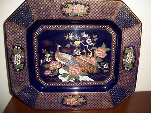 Vintage Japanese decorative plate