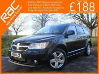2010 Dodge Journey 2.0 CRD Turbo Diesel RT 6 Speed 7-Seater MPV Bluetooth Full L