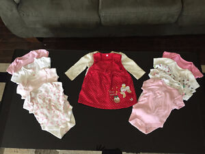0-6 MONTH BABY GIRL CLOTHES FOR SALE! $65 for EVERYTHING!