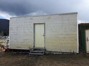 12 x 20 Storage shed in Salmon Arm B.C.
