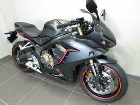 HONDA CBR650RA-K, 19 REG 2463 MILES, 650cc SPORTS BIKE WITH ABS, TORQUE CONTR...