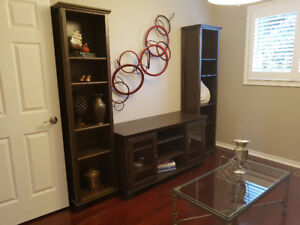 Wall Unit/Entertainment Unit - Solid Wood
