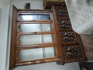 A beautiful antique armoire