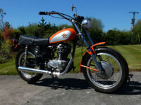 DUCATI SRAMBLER 250 ROAD 1974 5 SPEED NARROW CASE, LOW MILEAGE