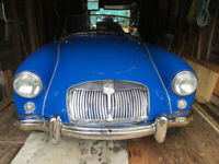 1957 MGA in excellent on the road condition