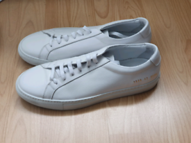 Common Projects Achilles Low UK Mens 8 White Trainers