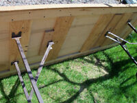 """Solid, heavy duty table; 85"""" by 32 """"Best Offer , no tax"""