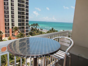 Affordable Seaside condo with balcony in Sunny Isles Beach.