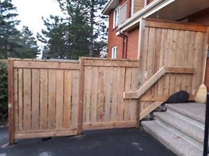 fence estimate for free/ estimée gratuite de clôture