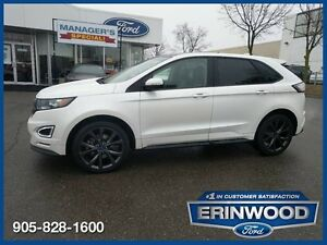 2015 Ford Edge SportCPO 24M@1.9%/12MO/20,000KM EXT WARR