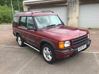 X reg Land Rover Discovery 2.5 Td5 ES 7 Seater (7 Seats) Metallic Copperleaf Red