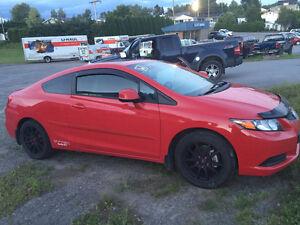 2012 Honda Civic Tissus Coupé (2 portes) Saguenay Saguenay-Lac-Saint-Jean image 3